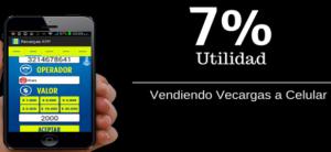 recarga en linea flash mobile 7%