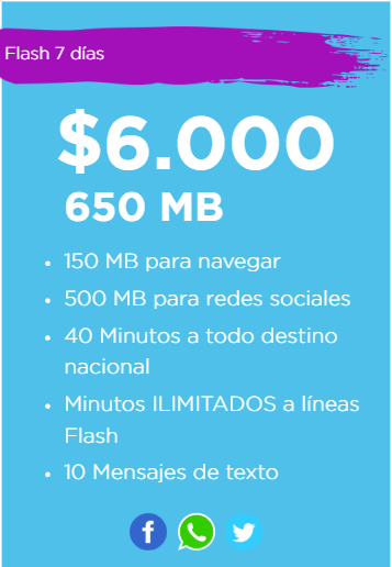 flash mobile prepago